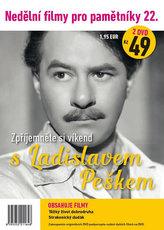 Nedělní filmy pro pamětníky 22. - Ladislav Pešek - 2 DVD pošetka
