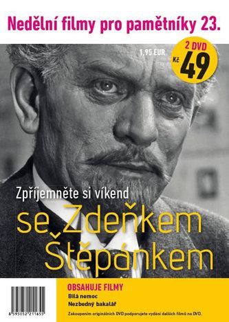 Nedělní filmy pro pamětníky 23. - Zdeněk Štěpánek - 2 DVD pošetka - neuveden