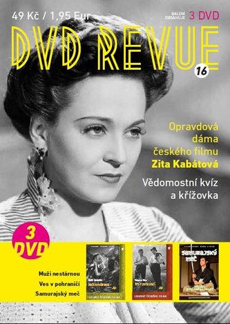 DVD Revue 16 - 3 DVD - neuveden