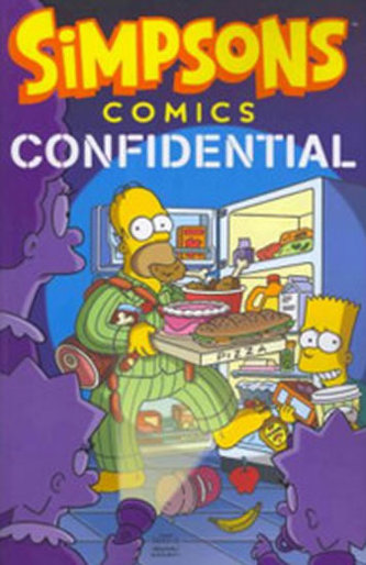 Simpsons Comics Confidential - Matt Groening