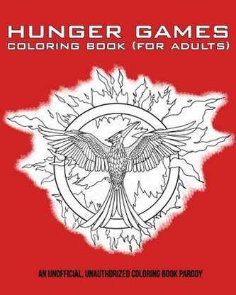 Hunger Games Colouring Book (for Adults)