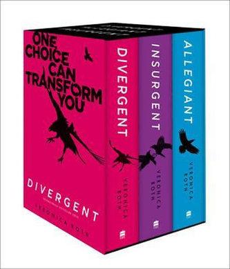 Divergent: Books 1-3 - Veronica Roth