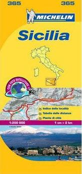 Local Map - Sicilie
