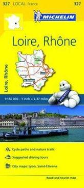 Local Map - Loire, Rhone