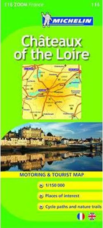 Chateaux of the Loire - Map - neuveden