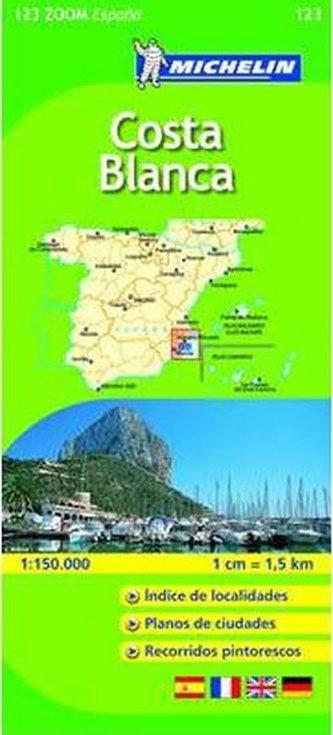 Costa Blanca - Map - neuveden