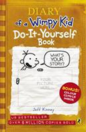 Diary of a Wimpy Kid: Do-it-yourself Book - Kinney Jeff