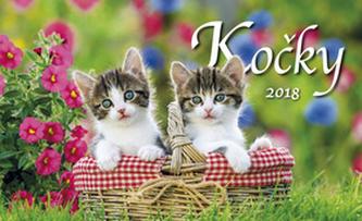 Kočky 2018 - stolní kalendář