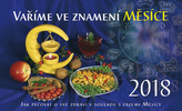 Vaříme ve znamení měsíce 2018 - stolní kalendář