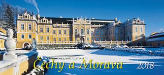 Čechy a Morava 2018 - stolní kalendář