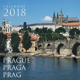 Praha CM 2018 - nástěnný kalendář