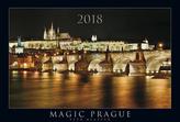 Magic Prague 2018 - nástěnný kalendář