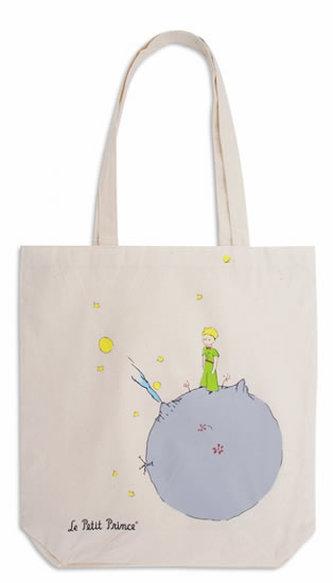 Plátěná taška Malý princ – Planeta - neuveden