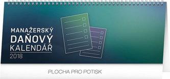Kalendář stolní 2018 - Manažerský daňový, 33 x 12,5 cm - neuveden