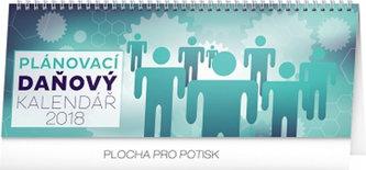Kalendář stolní 2018 - Plánovací daňový, 33 x 12,5 cm - neuveden