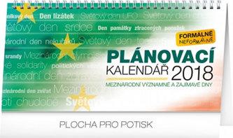 Plánovací kalendář - stolní kalendář 2018 - neuveden