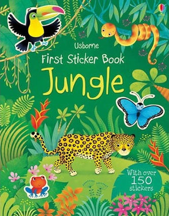First Sticker Book Jungle