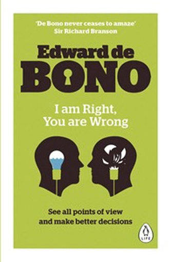 I am Right, You are Wrong - Bono Edward de