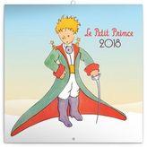 Kalendář poznámkový 2018 - Malý princ (Le Petit Prince), 30 x 30 cm