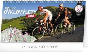 Tipy na cyklovýlety - stolní kalendář 2018 - neuveden