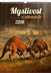 Myslivost v obrazech 2018 - nástěnný kalendář