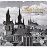 Zlatá Praha Franze Kafky Jakub Kasl 2018 - nástěnný kalendář
