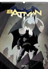Batman Plakáty - nástěnný kalendář 2018