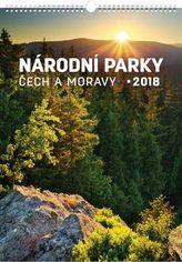 Národní parky Čech a Moravy 2018 - nástěnný kalendář