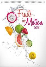 Ovoce v pohybu 2018 - nástěnný kalendář