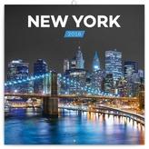 New York - nástěnný kalendář 2018