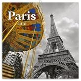 Paříž - nástěnný kalendář 2018
