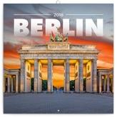 Berlín - nástěnný kalendář 2018