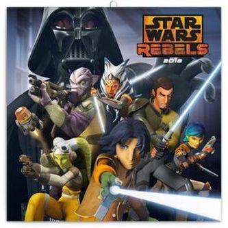 Star Wars Rebels Povstalci - nástěnný kalendář 2018