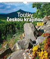 Toulky českou krajinou 2018 - nástěnný kalendář