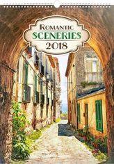 Romantická zákoutí 2018 - nástěnný kalendář
