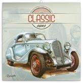 Classic Cars - nástěnný kalendář 2018