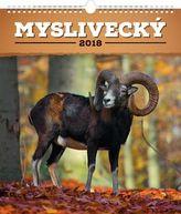 Myslivecký 2018 - nástěnný kalendář