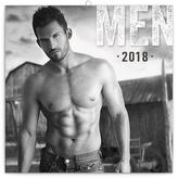 Muži - nástěnný kalendář 2018