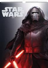 Star Wars Plakáty - nástěnný kalendář 2018