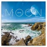 Měsíc - nástěnný kalendář 2018