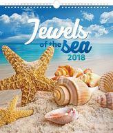 Klenoty moře 2018 - nástěnný kalendář