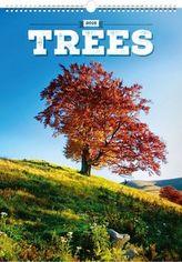 Stromy 2018 - nástěnný kalendář