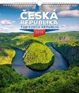 Česká republika 2018 - nástěnný kalendář