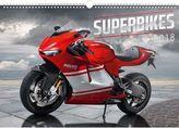 Superbikes 2018 - nástěnný kalendář