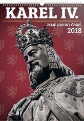 Karel IV. Země Koruny české 2018 - nástěnný kalendář