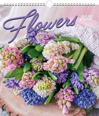 Květiny 2018 - nástěnný kalendář