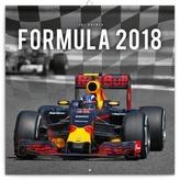 Formule - nástěnný kalendář 2018