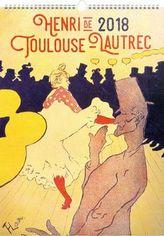 Henri de Toulouse-Lautrec 2018 - nástěnný kalendář