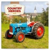 Traktory - nástěnný kalendář 2018