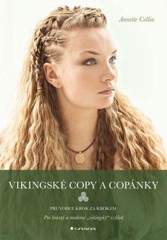 Vikingské copy a copánky - Průvodce krok za krokem - Collin Annette